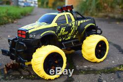 Off Road Chevy American Monster Truck 1/16 Rc Radio Remote Control Car Fast