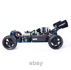 RC Car 110 Scale 4wd Off Road Buggy Nitro Gas Remote Control Truck Toy Full Kit