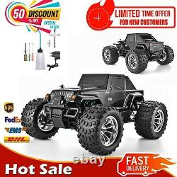 RC Car 110 Scale Two Speed Off Road Monster Truck 4wd Nitro Gas Power Remote