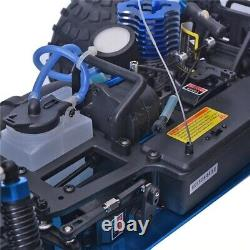 RC Car 110 Scale Two Speed Off Road Monster Truck Nitro Gas Power 4wd Remote