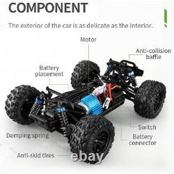 RC Car 118 Scale 2.4GHz 4CH Remote Control 35km/h High Speed 4WD Off-Road Truck