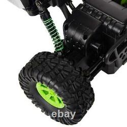 RC Crawler With Camera Off Road 4WD Remote Control Racing Car Truck 1/16 Green