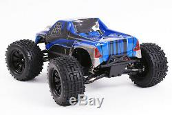 RC Radio Remote Control Car FAST Brushless SST Racing 4WD Expedition Truck Blue