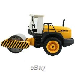 RC Road Roller 2.4G Remote Control Single Drum Vibrate Engineer Truck Model