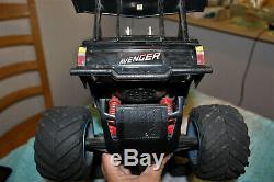 Rare Vintage 80's Nikko Avenger Monster Truck RC Car With Remote Awesome