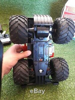 Rare Vintage 80s Nikko Turbo Dasher Monster Truck Remote Control Car RC with Box