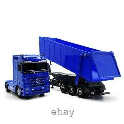 Rc Big Dump Truck Detachable remote control Car with Led Lights Gift Toy