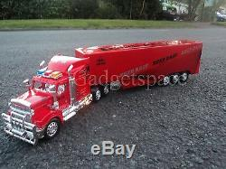 Red American Large Truck Lorry 49cm Length Remote Control Car New Boxed