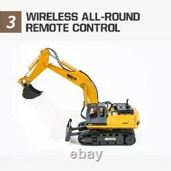 Remote Control 116 Truck RC Excavator 2.4G Machine on Control Toys Car For Boys