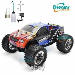 Remote Control Car Nitro Gas Power Two Speed Off Road Monster Truck High Speed