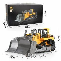 Remote Control Truck 8ch Rc Bulldozer Machine On Control Car Toys For Kids