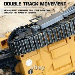 Remote Control Truck Bulldozer 8ch RC Machine On Control Car Toys For Kids 116