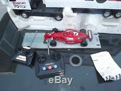 Remote Radio Controlled Snap On Tools Trucks with racing car