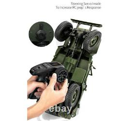 Simulation Car Model 110 Military Jeep Remote Control Buggy Truck 4WD Off-Road