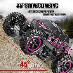 Songtai Remote Control Car Pink Rc Truck 4x4 Off-Road Waterproof Function