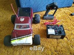 Tamiya Ratical Traxxas Remote Control Car Truck RC with Remote and Charger