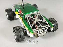 Team Losi Mini T Desert Green Truck 1/18 Scale With Remote Battery R/C Car RTR