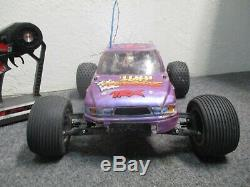 Traxxas Rustler RC Truck Remote Control Car With Radio Great Shape