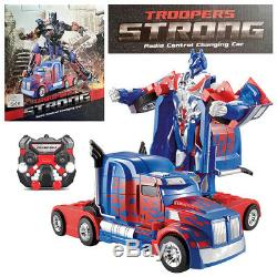 Troopers STRONG RC Radio Remote Control Transformer Vehicle Car Deform Robot