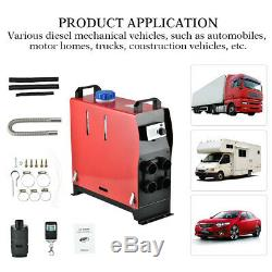 Universal 5KW 12V Car Truck Air Heater Heating Air Parking Heater with Remote