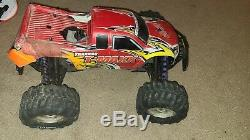 Used HPI Savage RC Nitro Roller remote Control Truck Car traxxas body offer