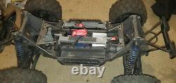 Used Traxxas Xmaxx 6s Brushless Remote Control car Rtr Truck snap-on offer