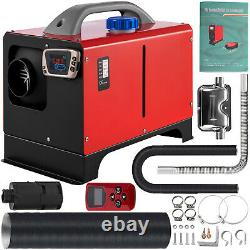 VEVOR Diesel Air Heater Parking Heater 2KW 12V LCD Remote For Cars Truck Bus RVs