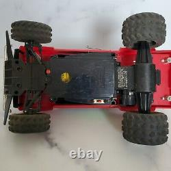 Vtg TYCO BAJA BANDIT 9.6V TURBO RC Nissan CAR TRUCK (Not Tested) with Remote