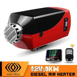 WARMTOO 8000W Diesel Air Parking Heater Remote Control Quiet for Truck Car Boat