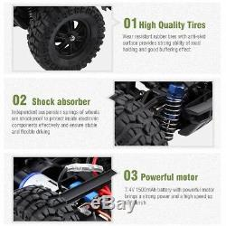 WLtoys 112 60KM/H 2.4GHz Remote Control Car RC Electric Monster Truck Off Road