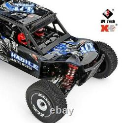 WLtoys 124018 1/12 High Speed Remote Control RC Car Buggy Monster Truck UK Stock