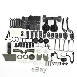 WPL B36 RC Car Kit Set + Remote Control 1/16 6WD 2.4G Military Off-Road Truck