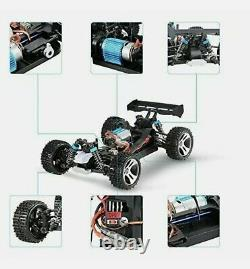 Wltoys A959A 50+MPH 118 4WD Remote Control Car High Speed 2.4g Truck Electric