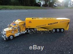 Yellow American Large Truck Lorry 49cm Long Remote Control Car New Boxed